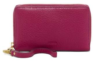 Fossil Emma Leather Phone Wristlet - RFID Protection