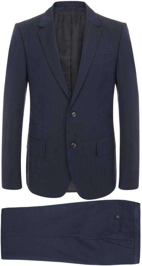 Alexander McQueen Navy Blue McQueen 2-Piece Suit