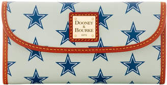 Dooney & Bourke NFL Cowboys Continental Clutch