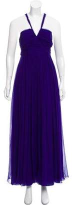 Robert Rodriguez Sleeveless Evening Dress