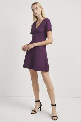 French Connection Ellie Knit Fit And Flare Dress