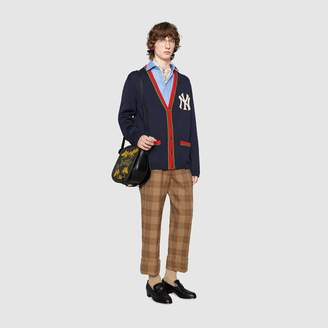 Gucci Men's cardigan with NY YankeesTM patch