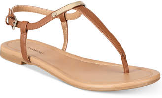 Call It Spring Aareniel Flat Sandals Women's Shoes $39.50 thestylecure.com