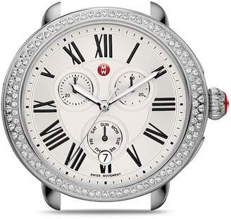Michele Serein Diamond Watch Head, 40 x 38mm