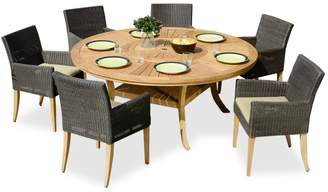 Komodo Scancom Table and Saint Lucia Six Seater Dining Set