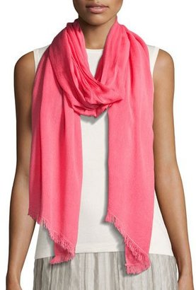 NIC+ZOE Sheer Spring Scarf, Pink $98 thestylecure.com