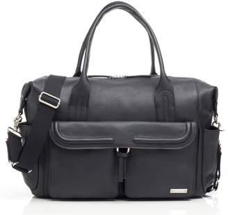 Storksak Storsak Leather Diaper Bag