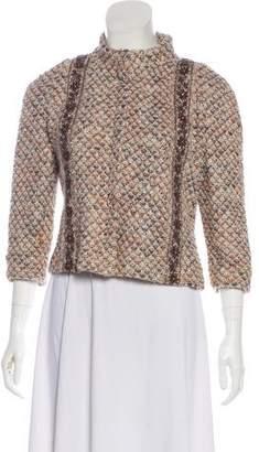 Couture St. John Embellished Tweed Jacket