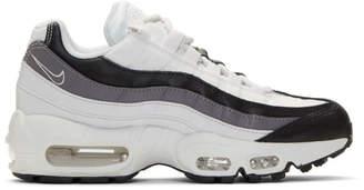 Nike Black and Grey Air Max 95 Sneakers