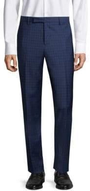 Paul Smith Slim-FitPlaid Wool Trousers