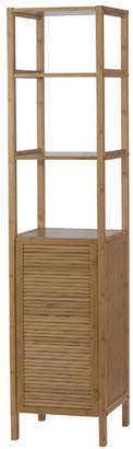 "Creative Bath Louver 14"" W x 62.5"" H Linen Tower"