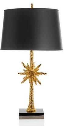 Michael Aram Starburst Gold-Tone Table Lamp