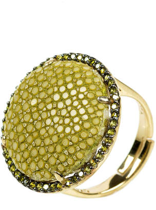 Latelita London - Stingray Circle Ring Kiwi