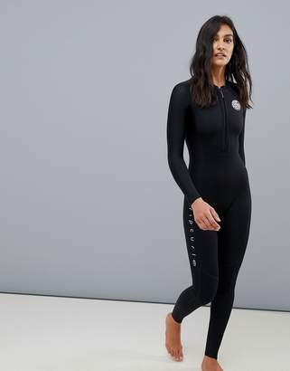 Rip Curl Bomb full-length neoprene springsuit in black