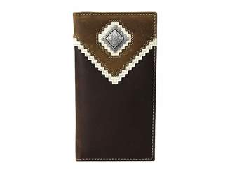 M&F Western Zigzag Overlay Rodeo Wallet