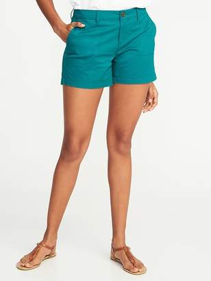 "Old Navy Relaxed Mid-Rise Shorts for Women (3 1/2"")"