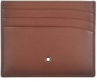 Montblanc Classic Burnished Leather Card Holder