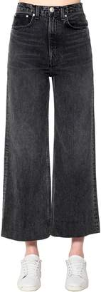Rag & Bone Rag&bone Haru Cotton Denim Wide Leg Jeans