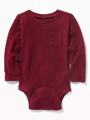 Old Navy Plush-Knit Bodysuit for Baby
