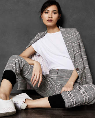 Ted Baker KIMMT Contrast cuff check trousers