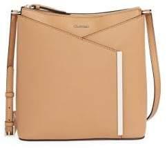 Calvin Klein Mara Crossbody Leather Bag