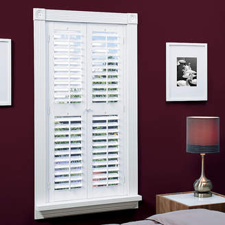 JCPenney JCP HOME HomeTM Faux-Wood Plantation Shutters with Mid-Rail - 2 Panels