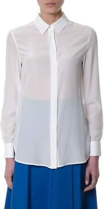 Sportmax Silk Ivory Shirt