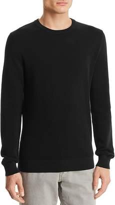 Theory Riland Piqué Breach Crewneck Sweater