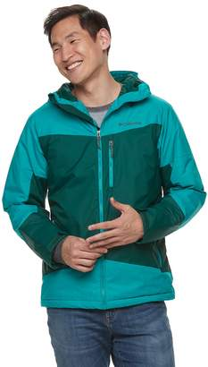 Columbia Big & Tall Wister Slope Colorblock Thermal Coil Insulated Jacket