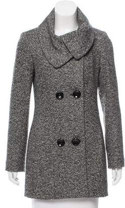 Cinzia Rocca Tweed Wool Coat