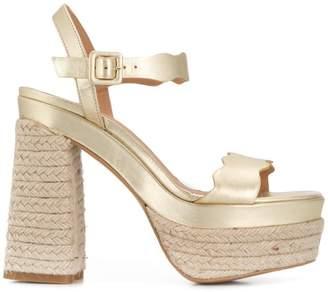 Castaner chunky heel sandals