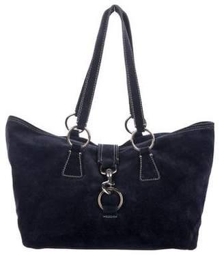 Miu Miu Suede Tote Bag