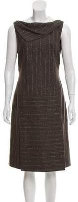 Rena Lange Silk & Wool Knee-Length Dress