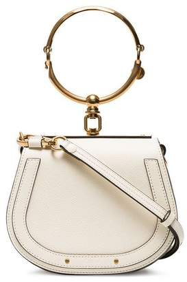 Chloé white Nile small bracelet bag