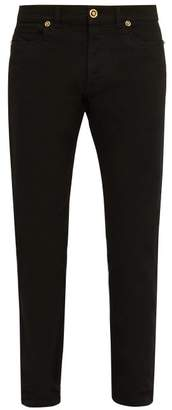 Versace Straight Leg Jeans - Mens - Black