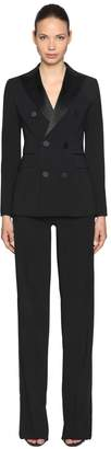 DSQUARED2 Stretch Wool Blend Tuxedo Suit