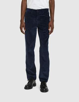Norse Projects Aros Corduroy Pant in Ensign Blue