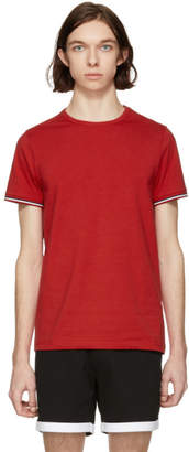 Moncler Red Flag Sleeves T-Shirt