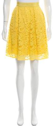 Alberta Ferretti Lace A-Line Skirt
