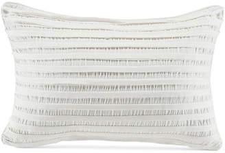"Croscill Willa Pieced Stripe 19"" x 13"" Boudoir Decorative Pillow"