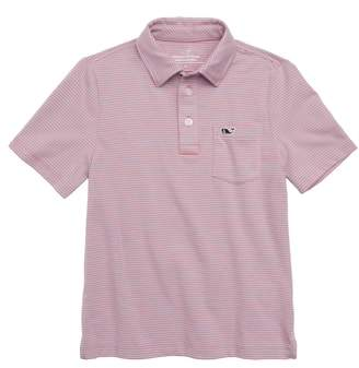 Vineyard Vines Edgartown Stripe Polo