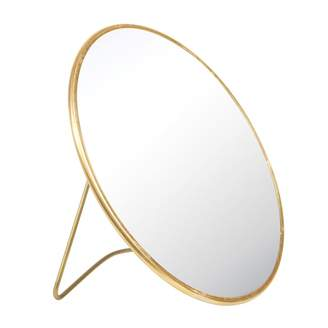 K Levering &Klevering &klevering - Brass Stand Mirror