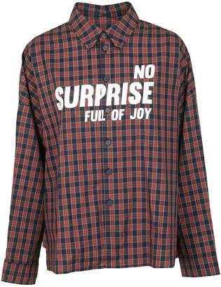 Sjyp Check Pattern Shirt