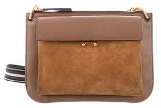 Marni Leather & Suede Trunk Bag Brown Leather & Suede Trunk Bag