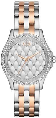Armani Exchange A|X  Women's AX5249 Lady Hampton Analog Display Analog Quartz Watch