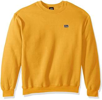 Obey Men's Typewriter Crew Neck Sweatshirt