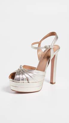 Aquazzura Evita 130 Plateau Sandals