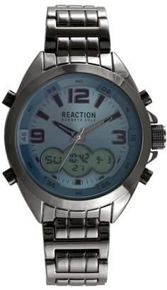 Kenneth Cole Reaction Men's Analog Quartz & Digital Bracelet Watch, 46.5mm