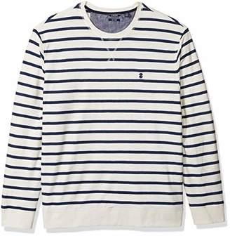 Izod Men's Saltwater Crew Long Sleeve Shirt
