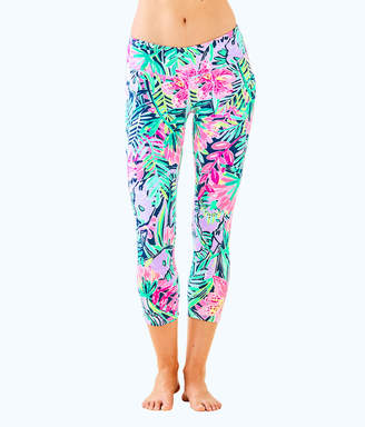 "Lilly Pulitzer Luxletic 21"" Anika Weekender Cropped Legging"